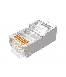 Коннектор RITAR RJ-45 8P8C FTP Cat-5 экранированный (100 шт / уп.) Q100