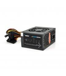 Блок питания Merlion 600W 12cm Black + кабель питания, 10шт в коробке, ОЕМ, (172х390х481мм)