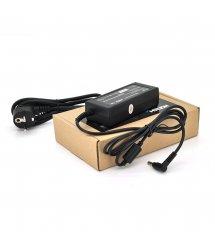 Блок питания MERLION для ноутбукa HP 19.5V 3.33A (65 Вт) штекер 4.5*3,0мм, длина 0,9м + кабель питания