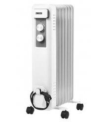 Масляный радиатор Zanussi ZOH/CS-07W 7 cекций, 1500 Вт, 20 м2, мех.упр-ние