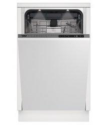 Вбудовувана посудомийна машина Beko DIS28122- 45см./11 компл./8 прогр /диспл/А++