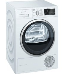 Сушильний барабан Siemens WT45W459OE - 60 см/9кг/Heat-Pump/TFT дисплей/А++/білий