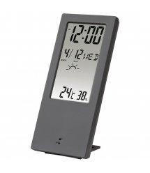 Термометр/гігрометр HAMA TH-140, з індикатором погоди, gray
