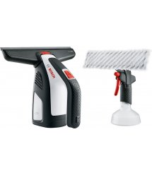 Пылесос для мытья окон Bosch GlassVAC Solo Plus, 2Ач, до 30 мин, 0.7кг, пульверизатор