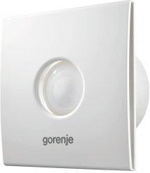 Вытяжной вентилятор Gorenje BVX120WTS, 20 Вт, 120 м3/ч, 2300 об./мин, таймер, белый