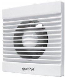 Вытяжной вентилятор Gorenje BVN100WS, 15 Вт, 70 м3/ч, 2400 об./мин, белый
