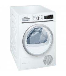 Сушильний барабан Siemens WT45W561OE - 60 см/9кг/Heat-Pump/TFT дисплей/А++/білий