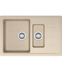Кухонні мийки Franke BASIS BFG 651-78 Фраграніт/780х500х200/Словаччина/Бежевий