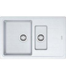 Кухонні мийки Franke BASIS BFG 651-78 Фраграніт/780х500х200/Словаччина/Білий
