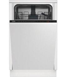 Вбудовувана посудомийна машина Beko DIS26021- 45 см./10 компл./6 програм/дисплей/А++