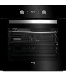 Встраиваемый электрический духовой шкаф Beko BIM24300BS -Шx60см/8 реж/71 л./диспл/сенс.упр./черный