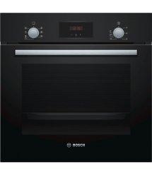 Встраиваемый электрический духовой шкаф Bosch HBF113BA0Q - Ш-60 см./6 реж/66 л./дисплей/черный