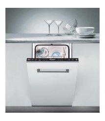 Вбудовувана посудомийна машина Candy CDI 1L952 A+/ 45см./9 компл./Led-индикация/Бiлий