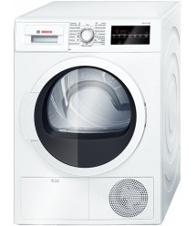 Сушильний барабан Bosch WTG86400OE - 60 см/9кг/дисплей/В/білий
