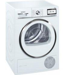 Сушильний барабан Siemens WT47Y782OE - 60 см/9кг/Heat-Pump/selfCleaning/дисплей/А++/білий