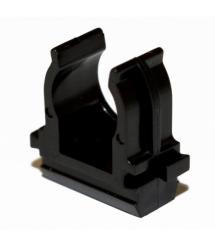 Клипса для гофры черная 16 мм (пач. 100шт. цена за пачку)