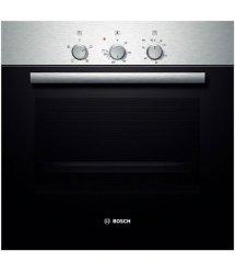 Встраиваемый электрический духовой шкаф Bosch HBN211E4 - Ш-60 см./4 реж/67 л./механика/нерж. сталь
