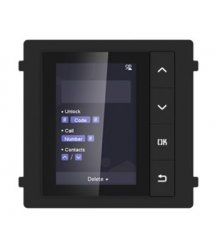 Модуль с монитором видеодомофона DS-KD-DIS