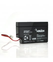 Аккумуляторная батарея MERLION AGM GP1208СС 12 V 0,8Ah ( 95 х 23 х 60 ) 0,32 кг Q20