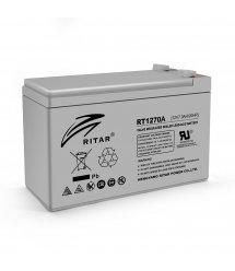 Аккумуляторная батарея AGM RITAR RT1270A, Gray Case, 12V 7.0Ah ( 151 х 65 х 94 (100) ) Q10