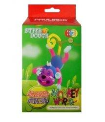 Маса для ліплення Paulinda Super Dough Monkey World мавпа PL-081537-2