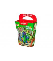 Маса для ліплення Paulinda Super Dough Cool Dragon Дракон синій PL-081378-16
