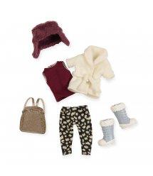 Набір одягу для ляльок LORI Теплий жакет з шапкою LO30006Z