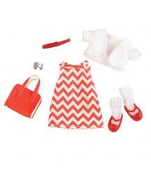 Набір одягу для ляльок LORI Сукня з принтом LO30009Z