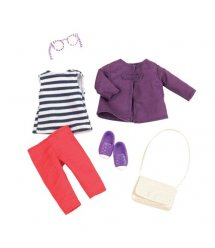 Набір одягу для ляльок LORI Просте красиве пальто LO30011Z