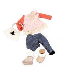 Набір одягу для ляльок LORI з мереживами LO30002Z