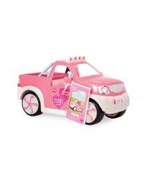 Транспорт для ляльок LORI Джип рожевий з FM радіо LO37033Z
