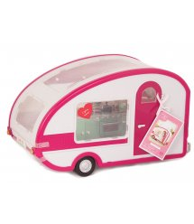 Транспорт для ляльок LORI Кемпер рожевий LO37011Z