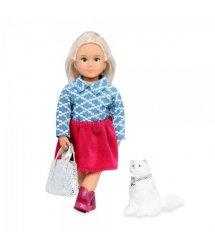 Лялька LORI 15 см Кайденс і кішка Кікі LO31053Z