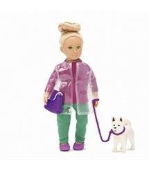 Лялька LORI 15 см Шауна з собачкою Сонні LO31025Z