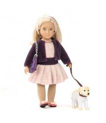 Лялька LORI 15 см Хайзел і золотистий ретривер LO31012Z