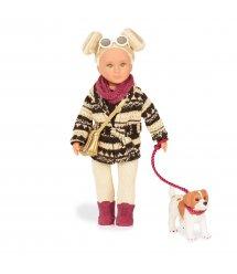 Лялька LORI 15 см Дакота з собачкою LO31017Z