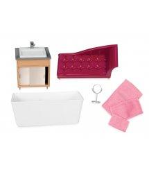 Набір для ляльок LORI Меблі для ванної LO37029Z