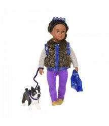 Лялька LORI 15 см Ілісса і собака тер'єр Індіана LO31016Z