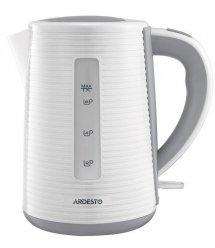 Електрочайник Ardesto EKL-F17WG 1.7л/2150Вт/strix контроль/колір білий + сірий