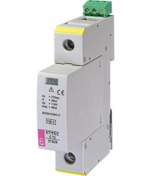 Обмежувач перенапруги ETI ETITEC C T2 275/20 (1+0) 1p, RC