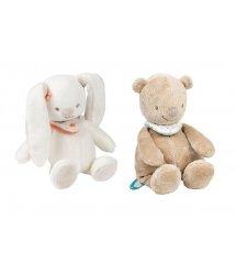 Nattou Набор мягких игрушек Мия и Базиль 652034