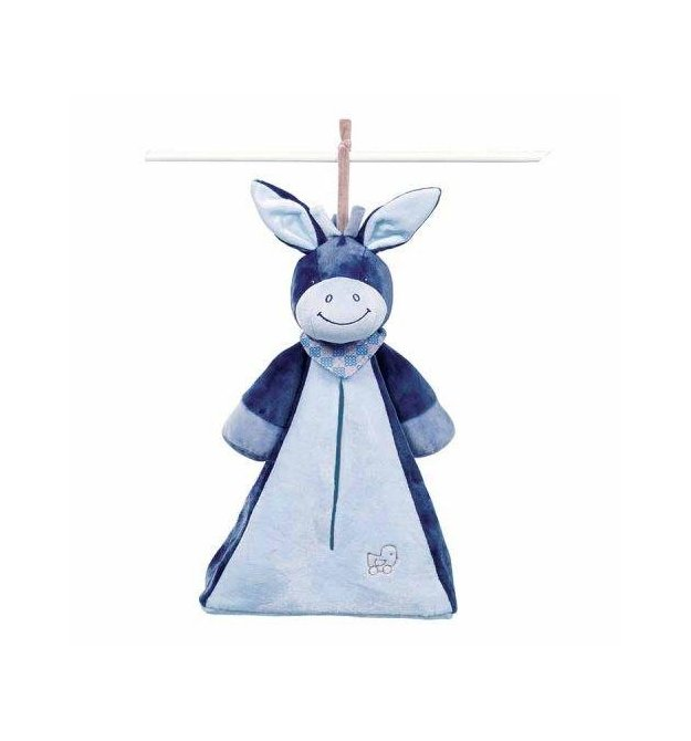 Nattou Мягкая игрушка Сумка для подгузников ослик Алекс 321495