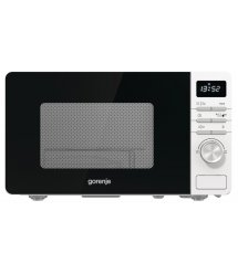 Микроволновая печь Gorenje MO20A4W / 20 л/800 Вт./электронное упр./LED-дисплей/белая