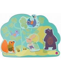 Настінна іграшка Oribel Veritiplay Веселий кролик та його друзі OR800-90001