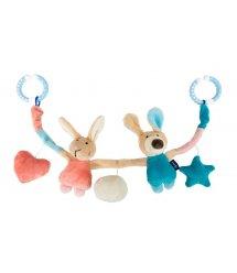 Іграшка-підвіска для візочка Кролики 41872SK