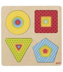 Пазл багатошаровий goki Геометричні фігури 57705G
