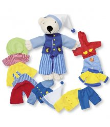 Розвиваюча гра goki Вбрання для ведмедика Тімби 51798G