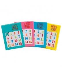 Настольная игра goki Пятнашки голубые 13186G-6