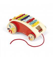 Іграшка-каталка Janod Ксилофон J05380