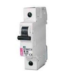 Автомат. вимикач ETI ETIMAT 10 1p C 63A (6kA)